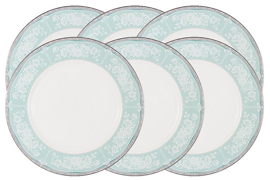"""Набор обеденных тарелок """"Прикосновение"""", 27 см, 6 шт."""
