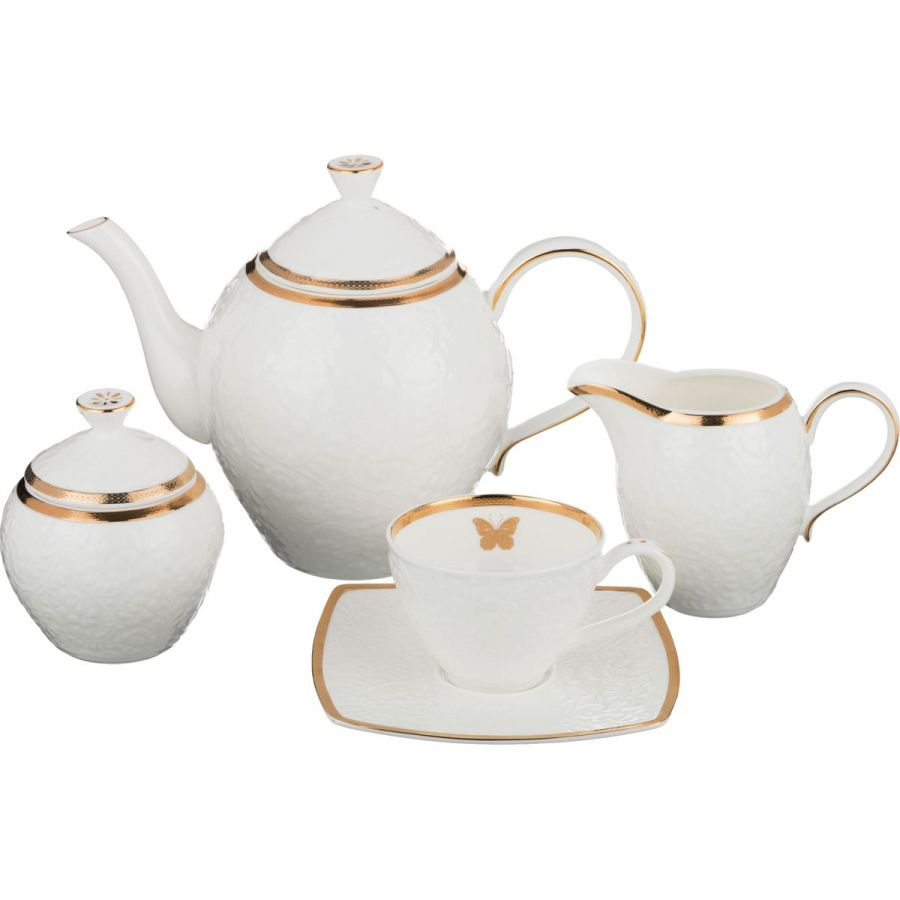 Чайный сервиз на 6 персон, 15 пр., 1350/200/350/300 мл