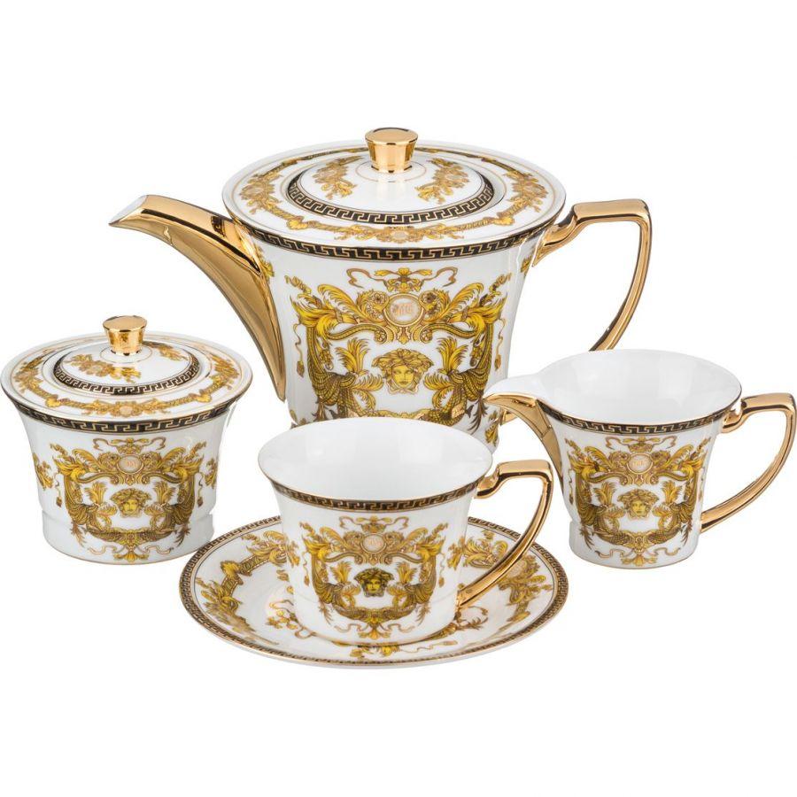 Чайный сервиз на 6 персон, 15 пр., 900/200 мл