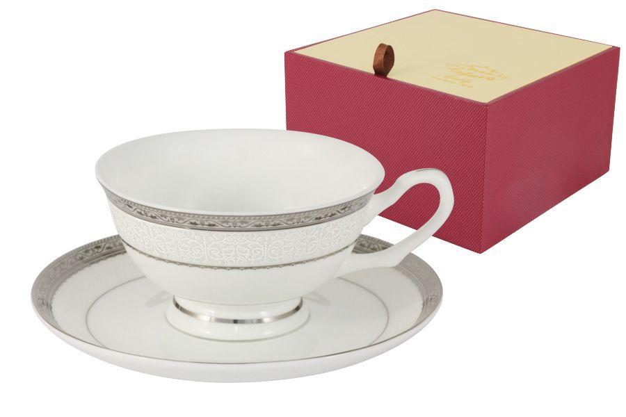 """Чайный набор на 1 персоу """"Бостон"""", 2 пр., 0.2 л"""