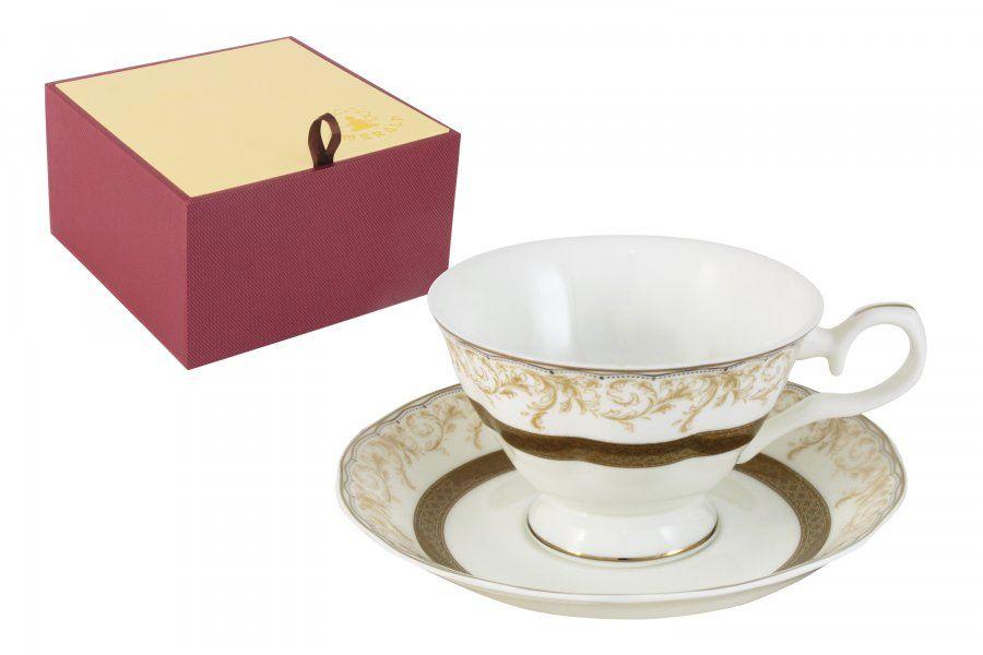 """Чайный набор на 1 персоу """"Лейла"""", 2 пр., 0.2 л"""