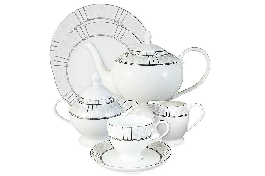 """Чайный сервиз на 12 персон """"Шенонсо"""", 40 пр."""