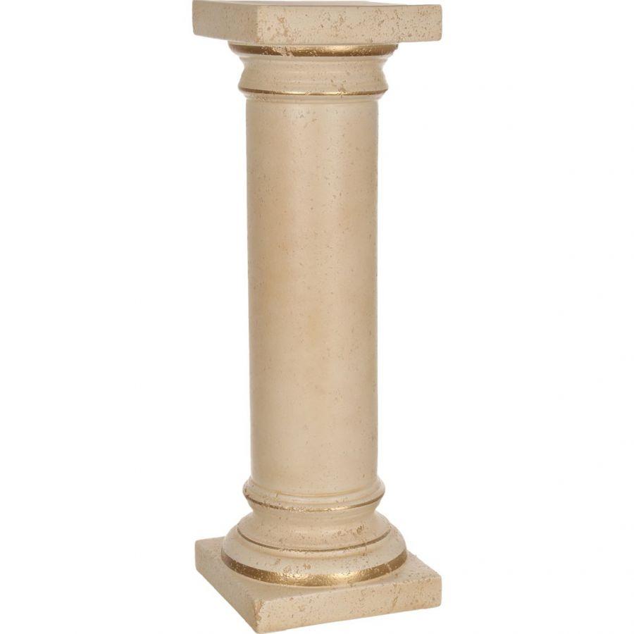 """Колонна """"Романо"""" старинная персиковая, 79 см."""