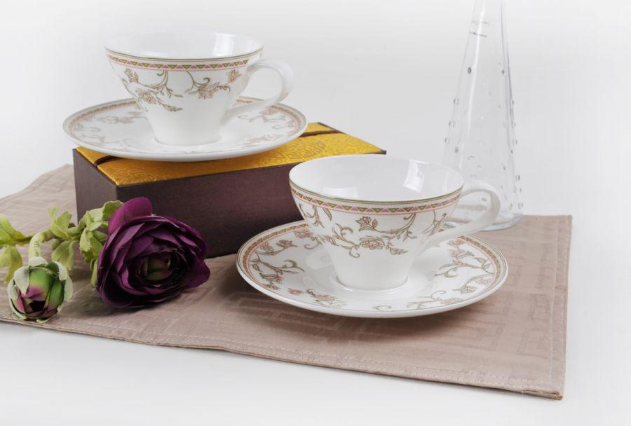 "Чайный набор на 2 персоны ""Лейла"", 4 пр."
